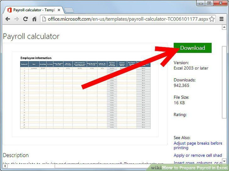 How to Prepare Payroll in Excel: 5 Steps (with Pictures) - wikiHow