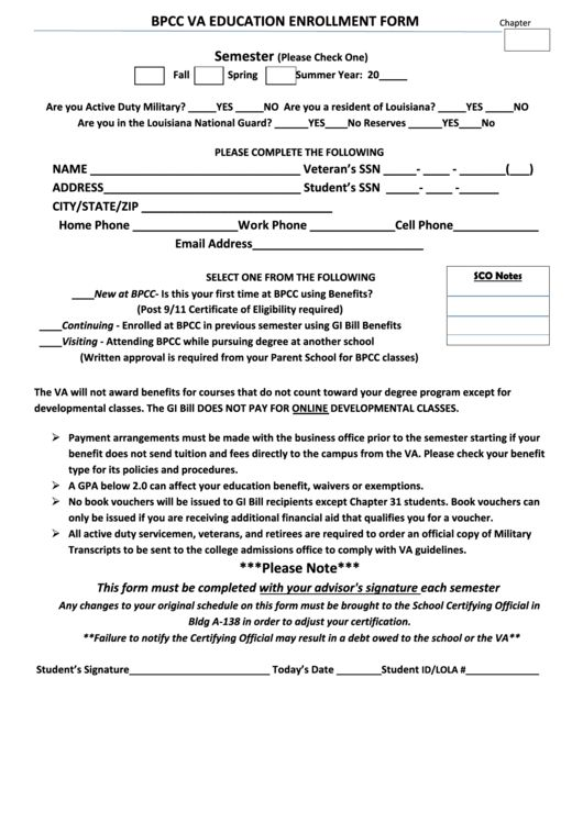Student Enrollment Form Template. student registration forms for ...