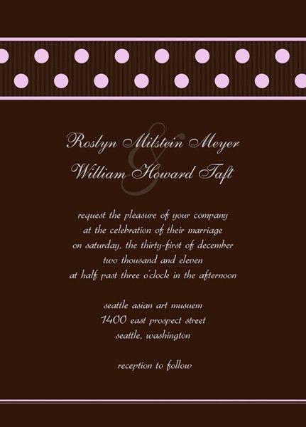 Wedding Reception Invitation – Make Modern Invitations