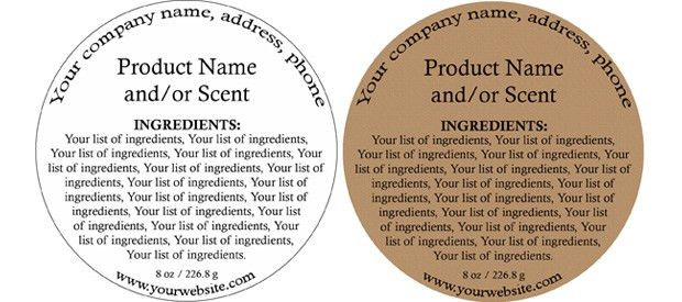 Quick, Easy and Affordable Ingredient Labels for your Bath & Body ...