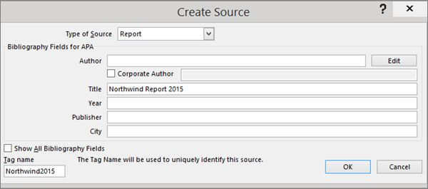 APA, MLA, Chicago – automatically format bibliographies - Word