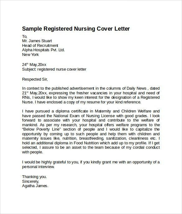 rn sample resume and cover letter male nurse cover letter ...