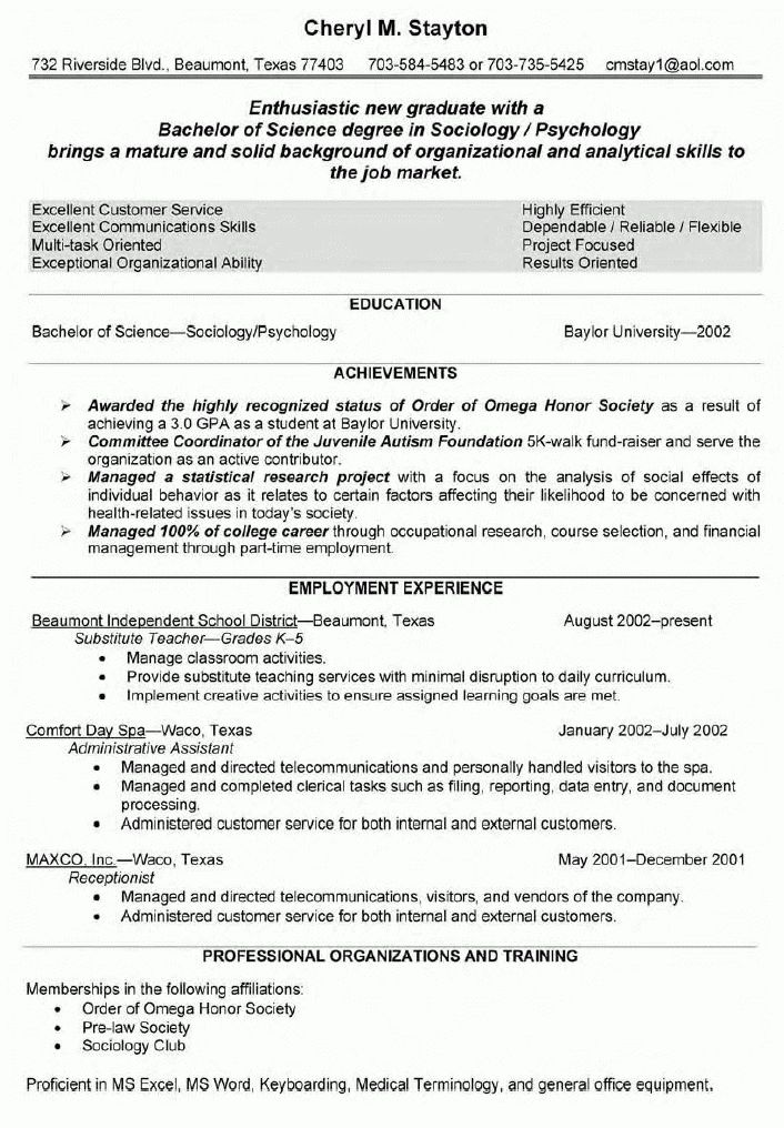 resume format for a teacher sample resume format teachers ...