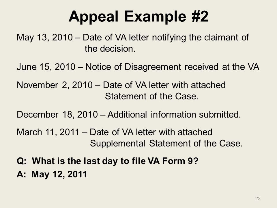 THE APPEAL PROCESS Barry Walter VFW Service Office.   Ppt Download