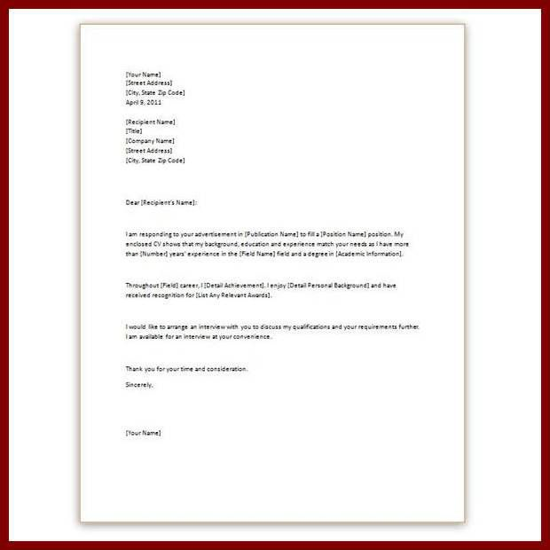 8+ professional letter template word | sendletters.info