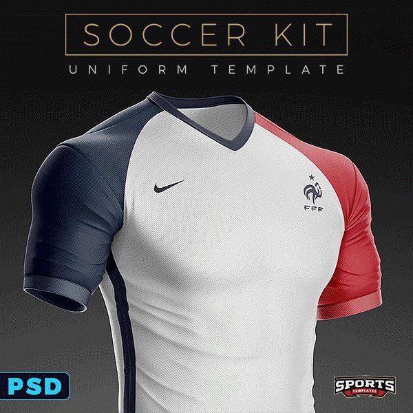 Goal Soccer Kit Uniform Template on Behance