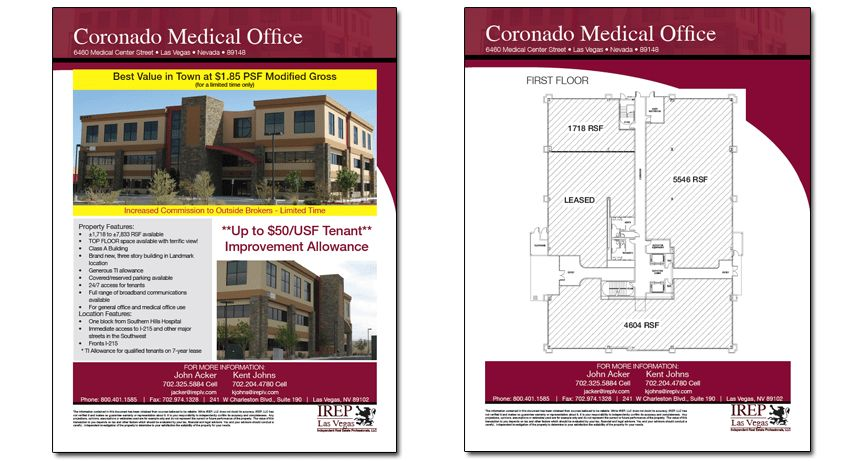6 Best Images of Commercial Real Estate Flyer Templates ...