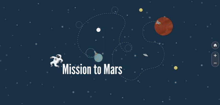 Mission To Mars Free Prezi Presentation Template | Prezibase