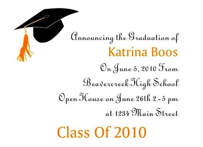Free Graduation Invitation Templates | downloadtarget