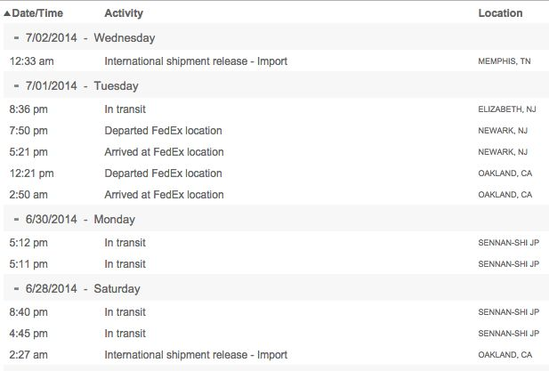 International Shipment Release - Import on FedEx Tracking