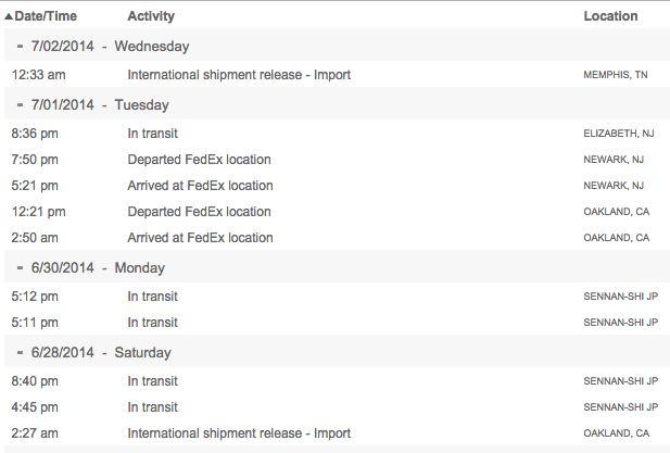 International Shipment Release - Import on FedEx Tracking