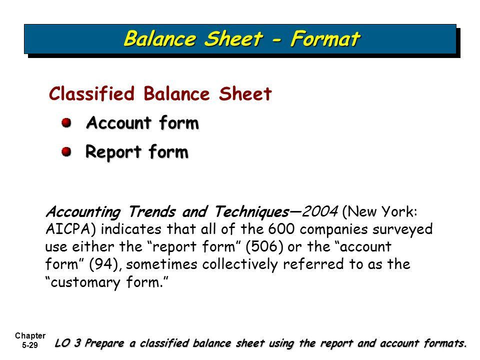 Examining the Balance Sheet and Statement of Cash Flows - ppt ...