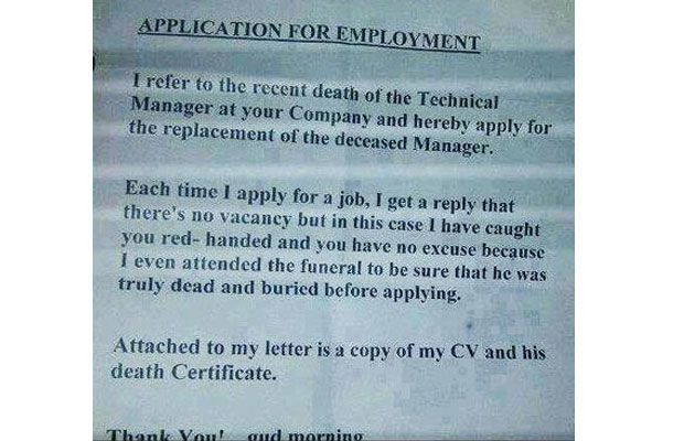 11 Extremely Funny Cover Letters That People Actually Sent ...