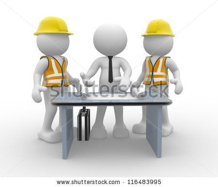 3d People Men Person Office Working Stock Illustration 96025628 ...