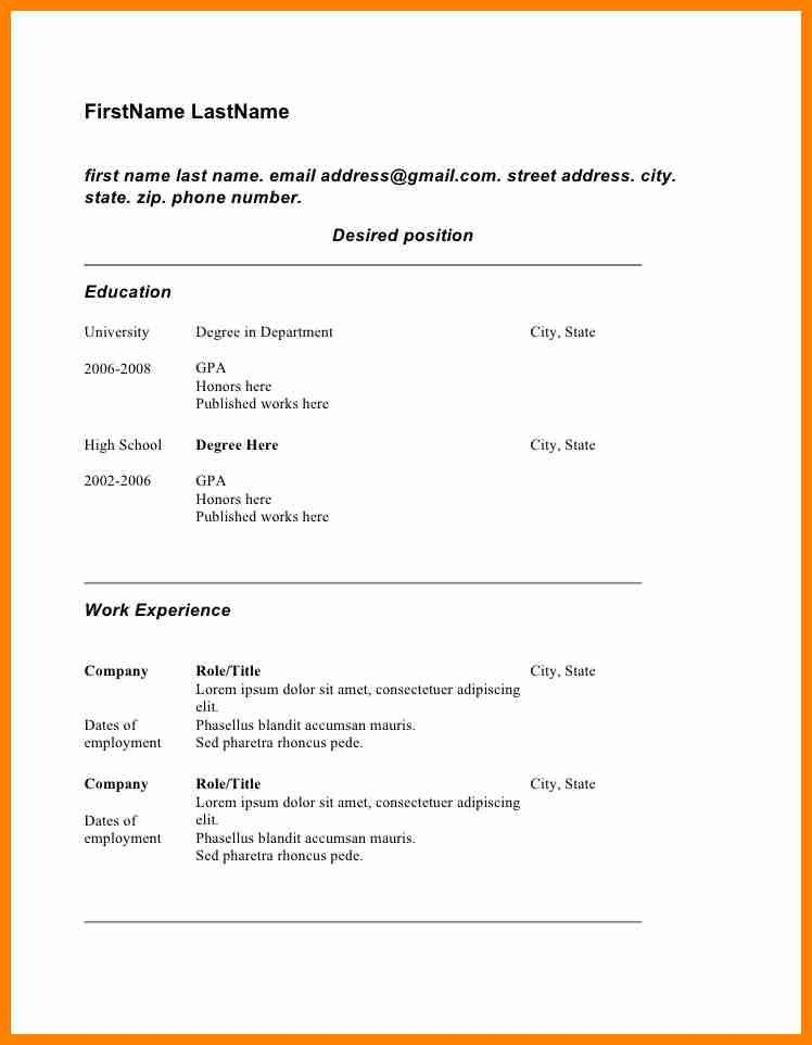 Copy Of Resume 20 Copy Of A Resume Www Inspirenow - uxhandy.com