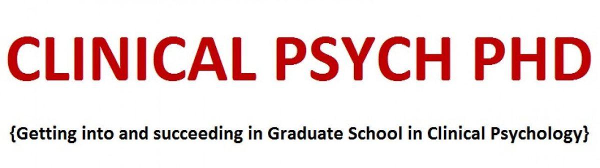 The CV | Clinical Psychology PhD