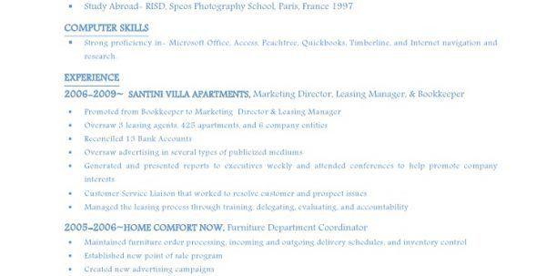 Leasing Agent Resume Leasing Consultant Resume Consultant Resume ...