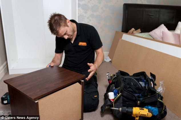 Handyman makes a living building flatpack furniture at £30 an hour ...