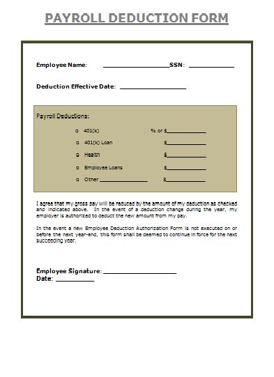 Payslip Forms Archives - Payslip Templates