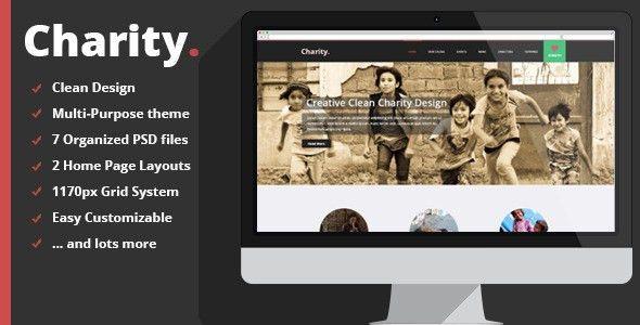 30+ Non Profit, Charity PSD Website Templates - Free & Premium
