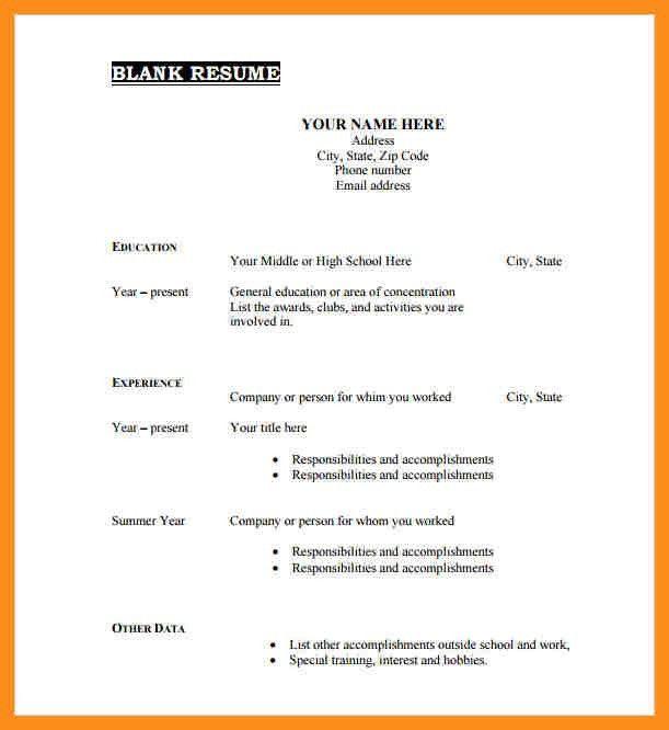 8+ download cv template pdf | resume setups