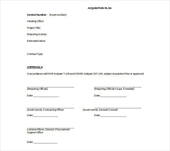 15+ Acquisition Strategy Templates – Free Sample, Example, Format ...