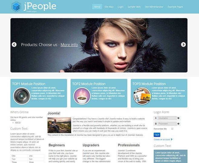 JomBoom.COM | Free joomla templates -Jpeople