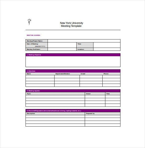 Meeting Notes Template - 28+ Free Word, PDF Documents Download ...