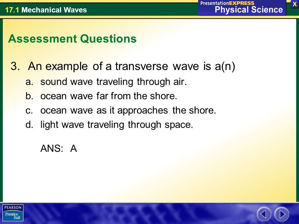 In a wave pool, the waves carry energy across the pool - ppt download