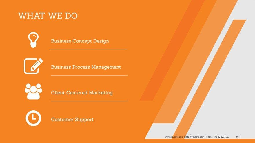 Business Profile PowerPoint Template by Slide-Sam | GraphicRiver