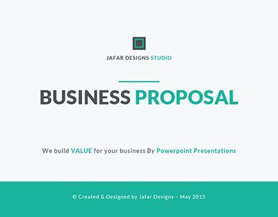 Powerpoint Template Jafardesigns — search on Behance.net