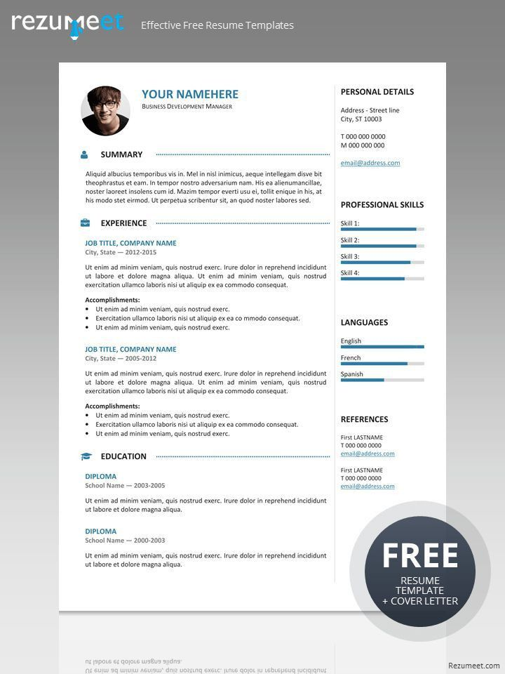 126 best Classic resume templates images on Pinterest | Resume ...