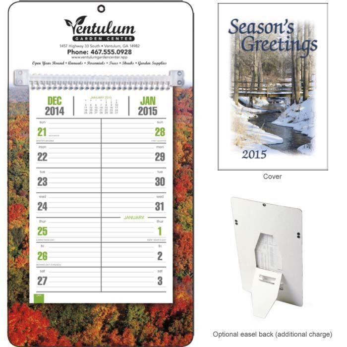 Pocket & Desk Calendar