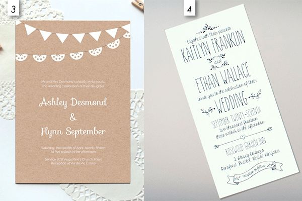 12 Editable Templates for Wedding Invitations - EverAfterGuide