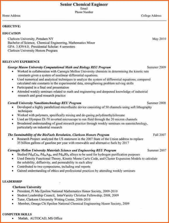 8+ Engineering student resumes - Budget Template Letter