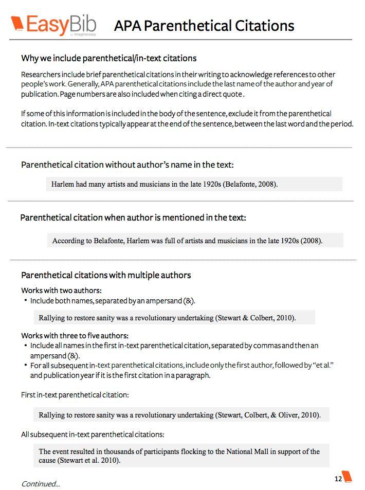 Download Your Free APA Citation Basics E-book