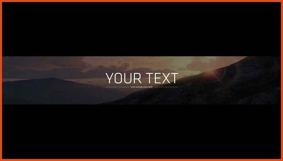 banner template photoshop | moa format