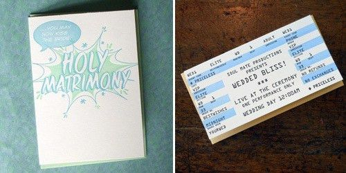 Looking for a Slightly Sassy Wedding Invite? | mywedding