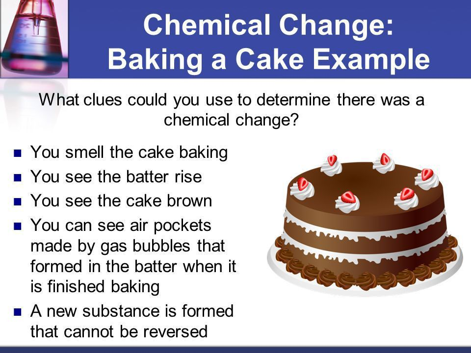 How does a physical change differ from a chemical change in matter ...