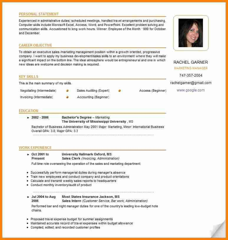 Free canadian resume example | Loses-advice.cf