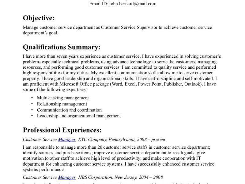 Trendy Design Ideas Customer Service Resume Objectives 9 Smart ...