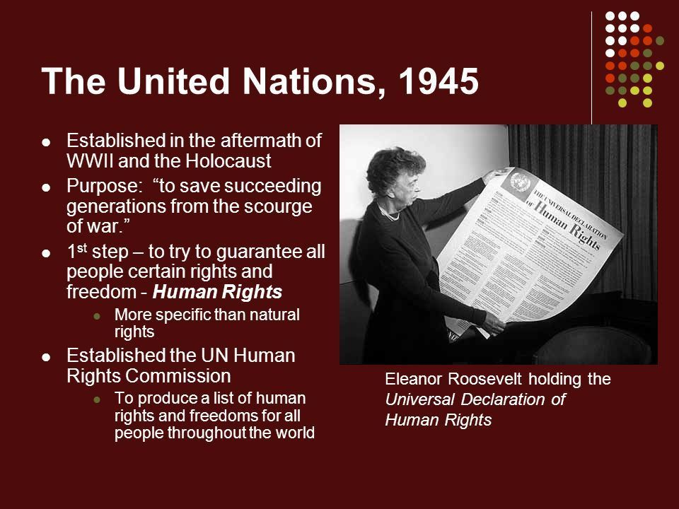 Development of Rights and Freedoms: A Historical Timeline Mr ...