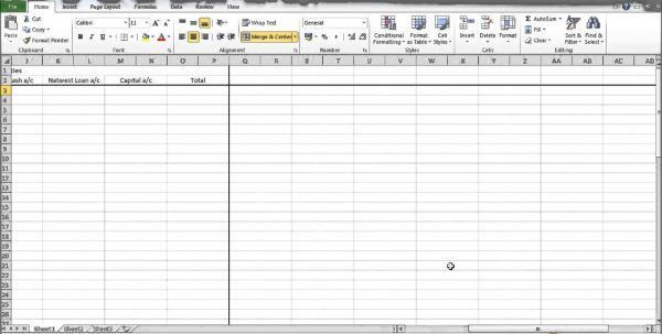 Free Printable Ledger Forms 1 Bookkeeping Templates Excel ...