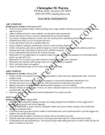 sample secondary teacher resume doc by abg resume resume. resume ...