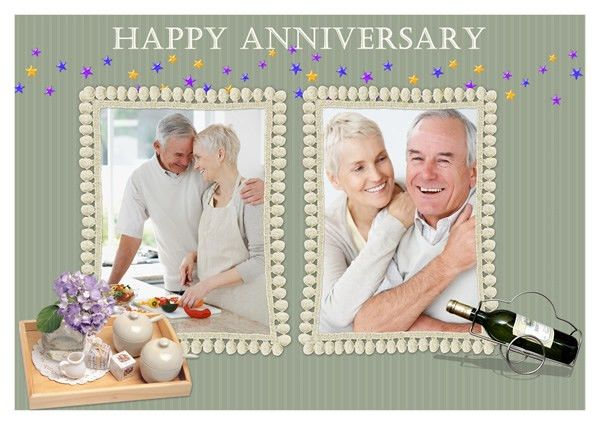 Anniversary Card Templates | Greeting Card Builder