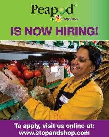 Stop and Shop Supermarket/Peapod Personal Shopper- Part-time Job ...