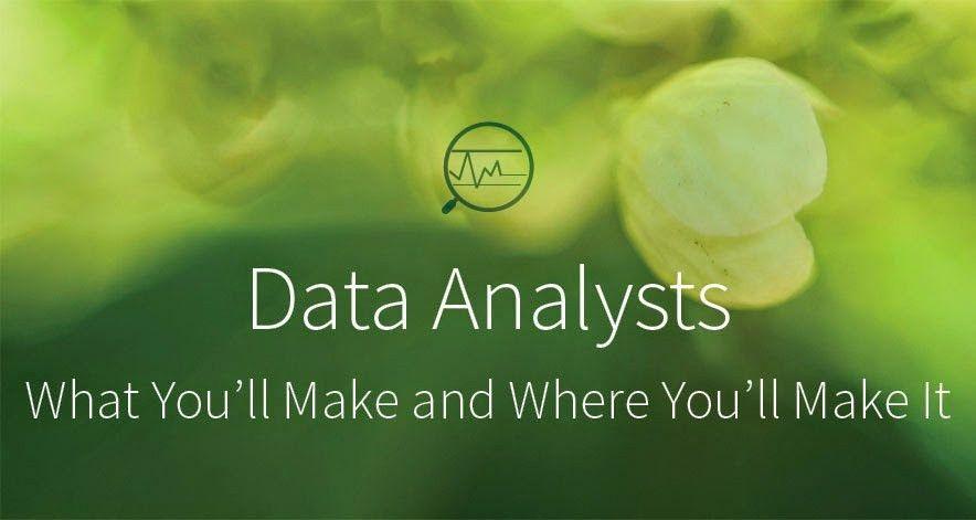Data Analysts: What You'll Make and Where You'll Make It | Udacity