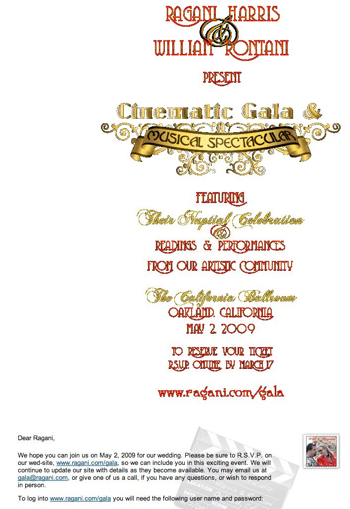 How to create email wedding invitations that save money and are ...