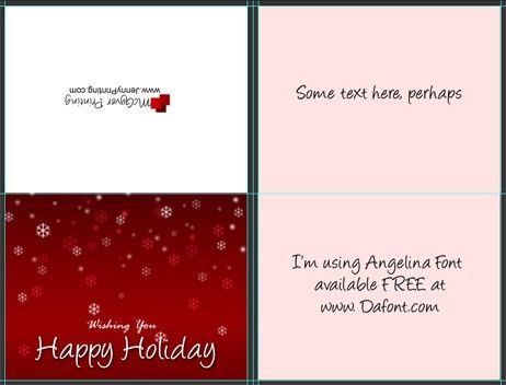 A2 Size Half Fold Greeting Card Cover Actions   Cover Actions ...