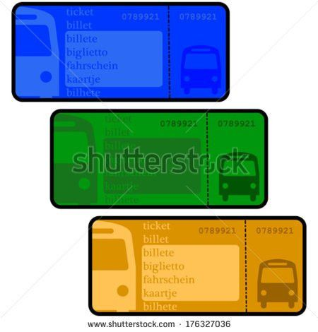 Bus Ticket Stock Images, Royalty-Free Images & Vectors | Shutterstock